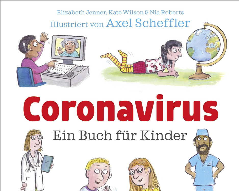 Buchempfehlung: Coronavirus für Kinder erklärt