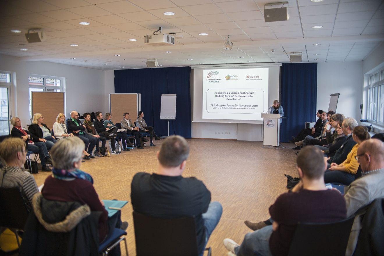 """Konferenz Hessisches Bündnis """"Demokratiebildung nachhaltig gestalten"""""""