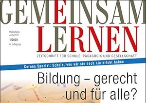 """Lesetipp: Beitrag in der Zeitschrift """"Gemeinsam Lernen"""" von Christa Kaletsch"""