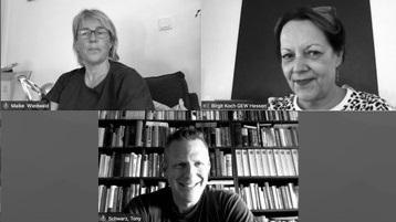 Maike Wiedwald, Birgit Koch und Tony C. Schwarz
